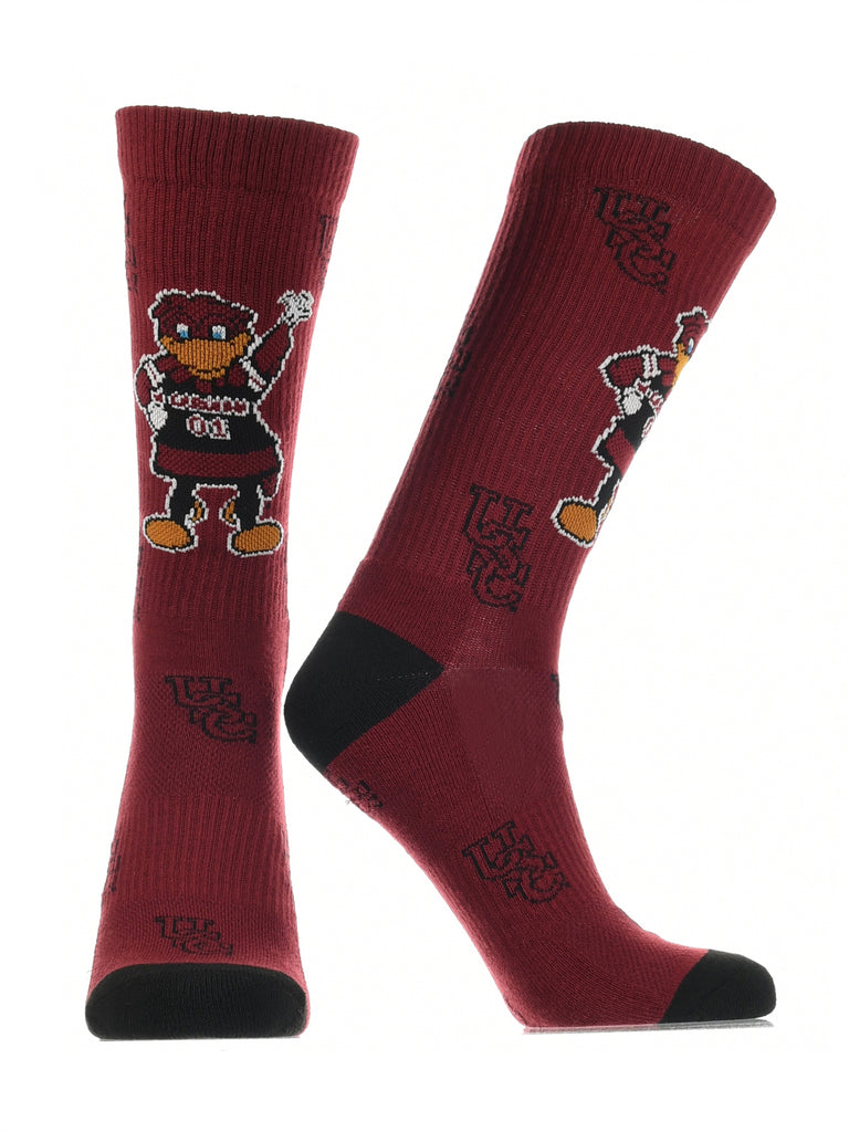 South Carolina Gamecocks Socks Crew Length Sock Mayhem