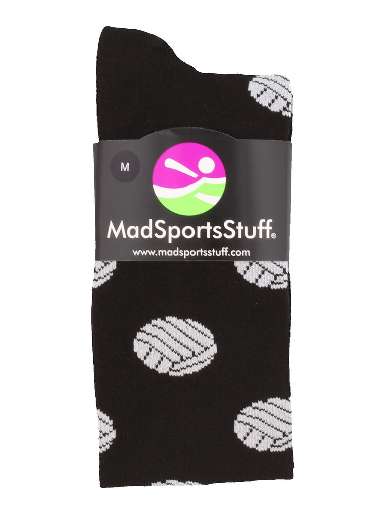 Volleyball Socks with Volleyball Print Over the Calf