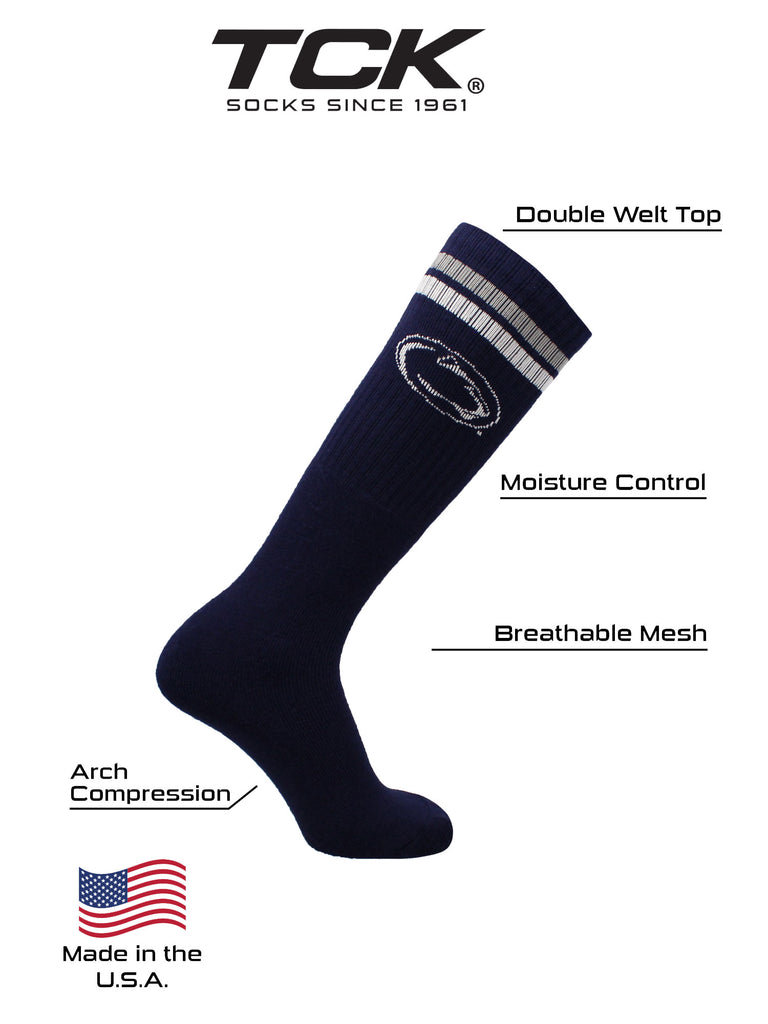 Penn State Nittany Lions Socks Throwback Tube