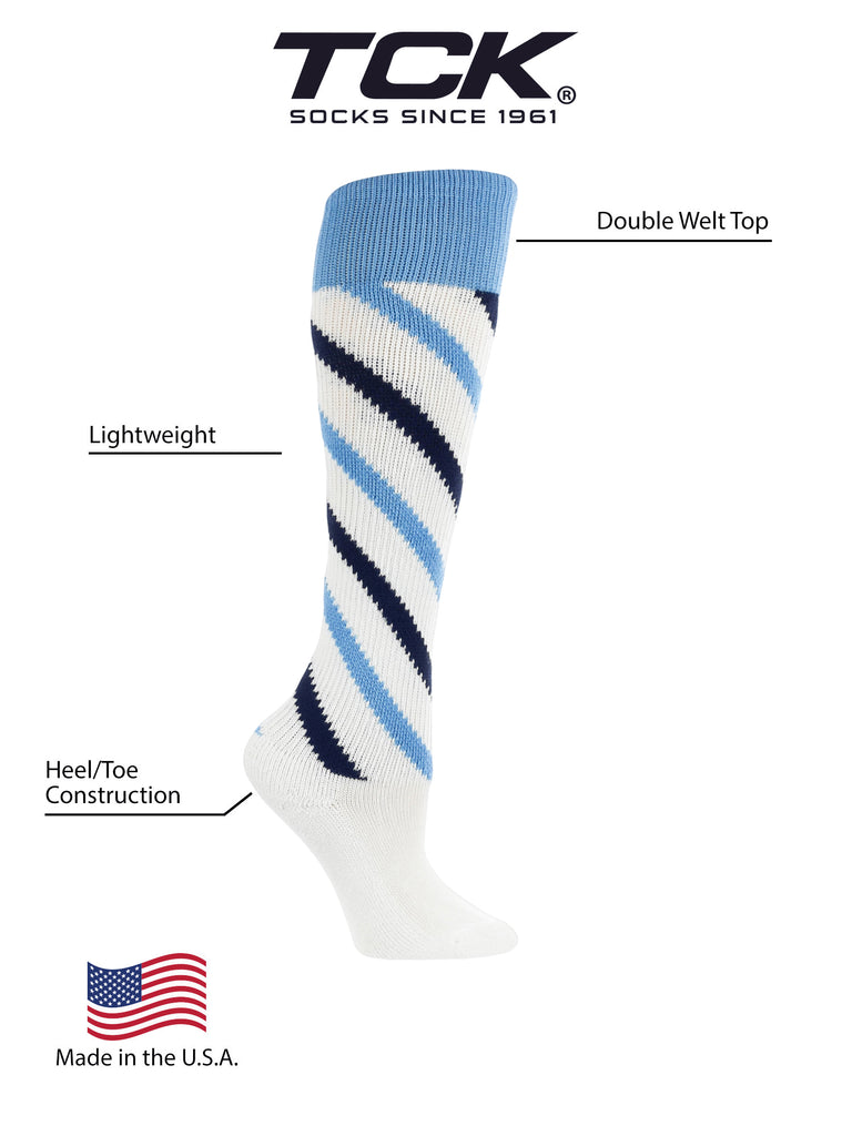 Candy Stripe Knee High Softball Socks Soccer