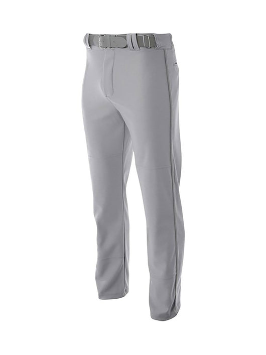 Youth Baseball Pants Open Bottom Pro Line (Grey, Large) - Grey,Large