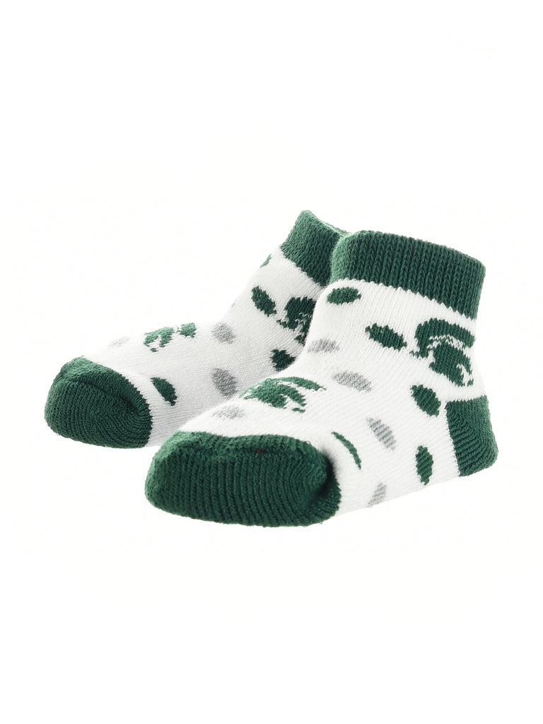 Michigan State Spartans Toddler Socks Low Cut Little Fan