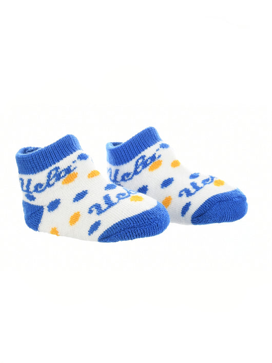 UCLA Bruins Toddler Socks Low Cut Little Fan (Blue/Gold/White, 2T-4T) - Blue/Gold/White,2T-4T