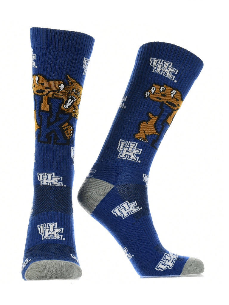 Kentucky Wildcats Socks Crew Length Sock Mayhem