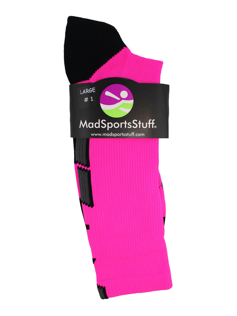 Player Id Jersey Number Socks Crew Length Neon Pink and Black