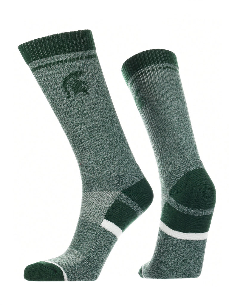 Michigan State Spartans Socks Victory Parade Crew Length
