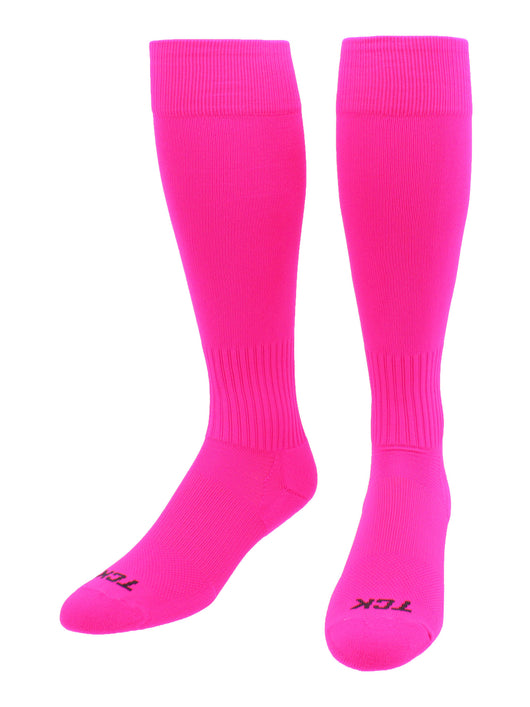 Elite Finale Soccer Socks (Hot Pink, Medium)