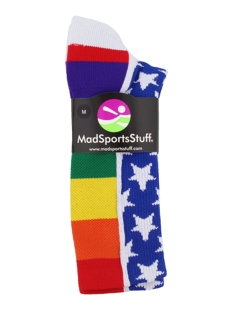 Rainbow Pride Crew Socks