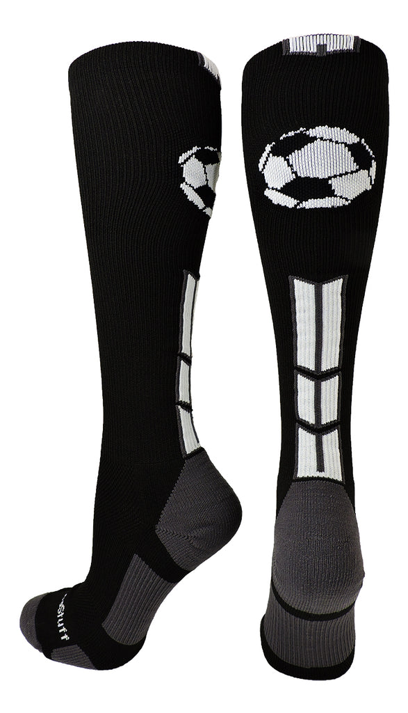 Soccer Socks with Soccer Ball Logo Over the Calf (multiple colors)