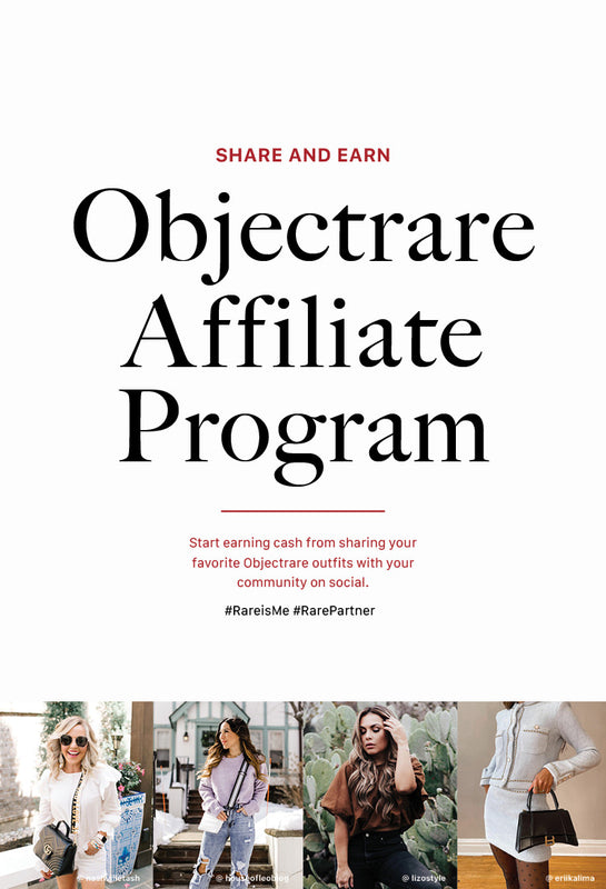 Objectrare Affiliate Program