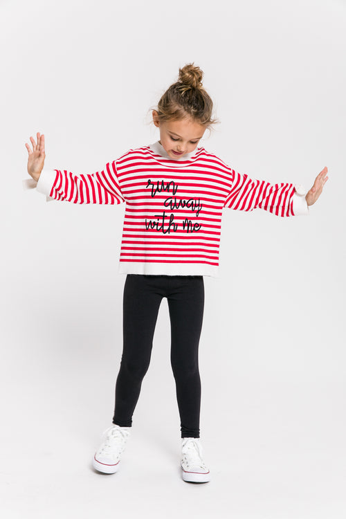 RED LONG SLEEVE TOP by RECESS KIDS Shop from OBJECTRARE
