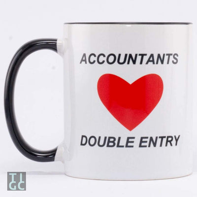Accountants love double entry TIGC The Inappropriate Gift Co