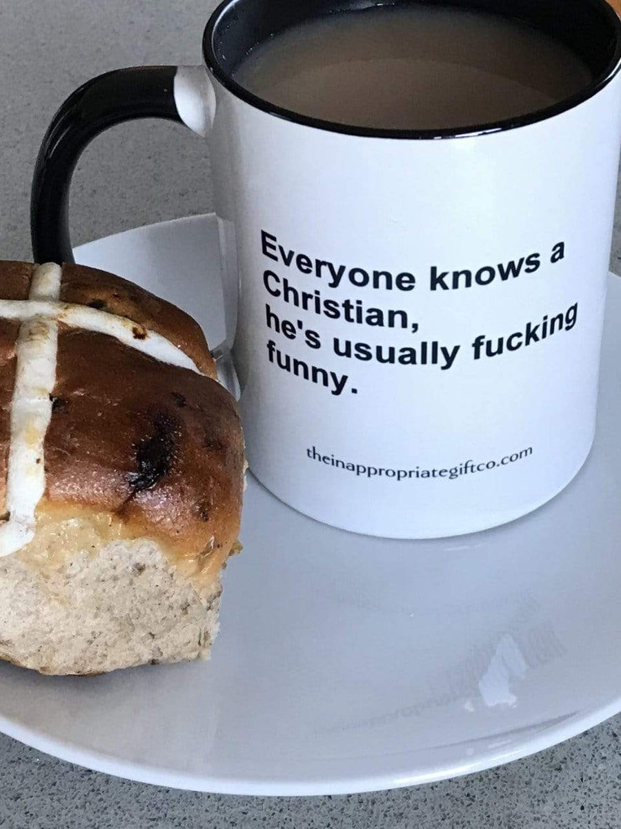 Everyone knows a Christian, He's usually fucking funny