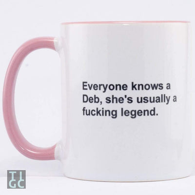 Everyone knows a Deb TIGC The Inappropriate Gift Co