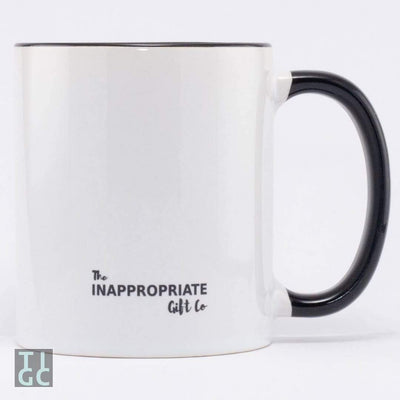 Fuck Off. Sorry I mean good morning mug TIGC The Inappropriate Gift Co