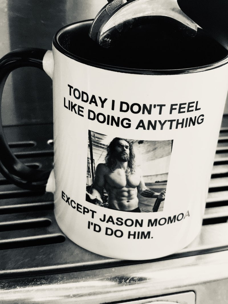 Jason Momoa Mug TIGC The Inappropriate Gift Co