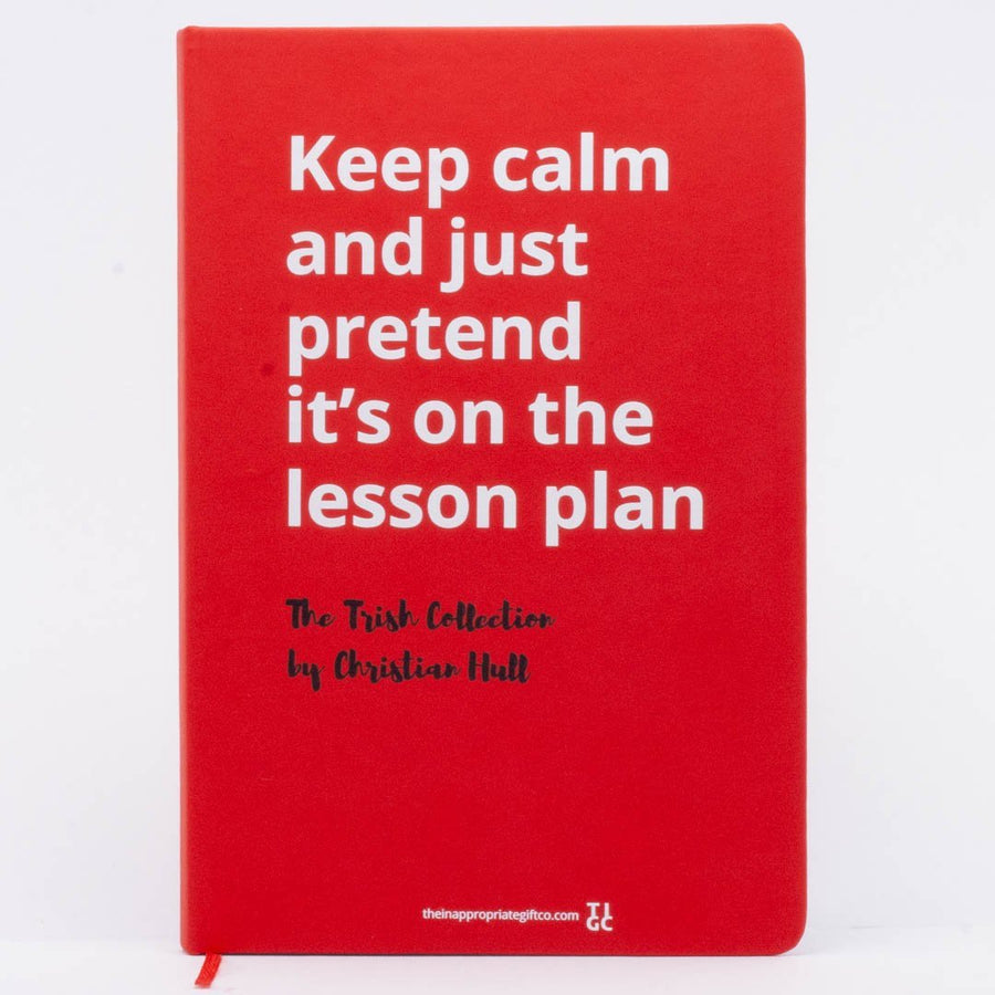 Keep calm and just pretend it's on the lesson plan TIGC The Inappropriate Gift Co