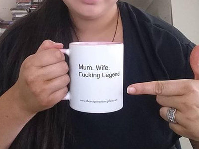 Mum, Wife Fucking Legend TIGC The Inappropriate Gift Co