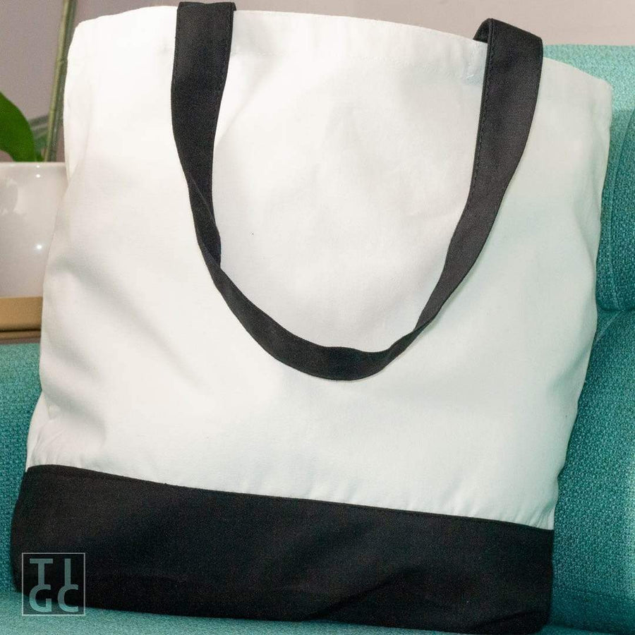 Recycled Fucks Deluxe Two Tone Tote Bag TIGC The Inappropriate Gift Co