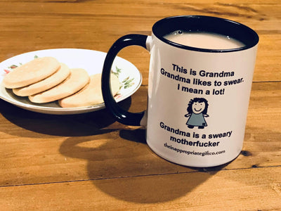 Sweary Grandma TIGC The Inappropriate Gift Co