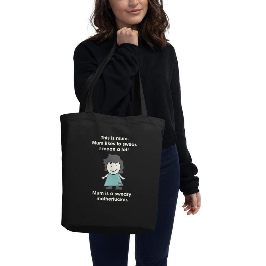 The Sweary Mum Eco Tote Bag TIGC The Inappropriate Gift Co