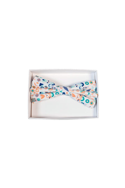HEW Bow Tie White Bird