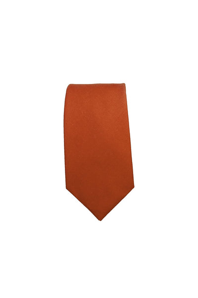 HEW Clothing Mens Tie in Burnt Orange