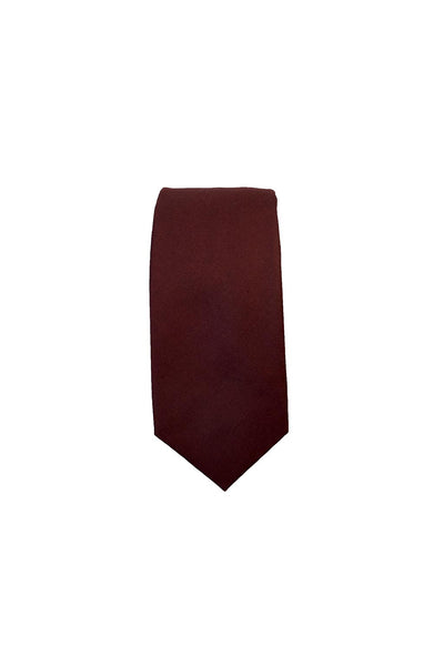 HEW Clothing Knitted Tie in Plum