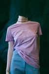 Hew Clothing lilac printed tee