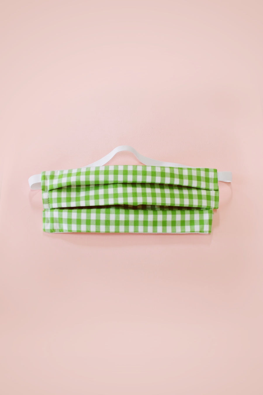 Cloth Face Mask in Gingham