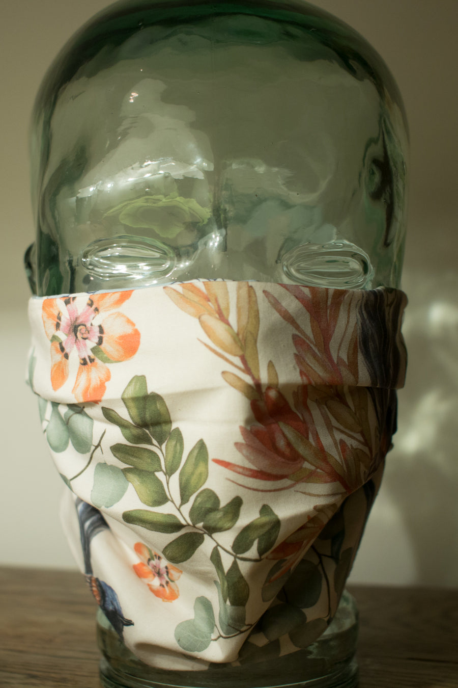 Cloth Face Mask in Floral