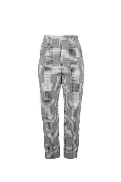 Houndstooth Check Pants