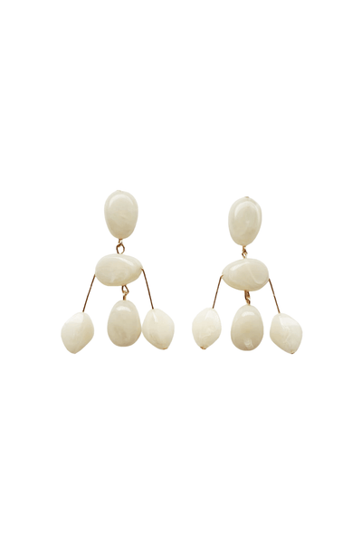 Mini Cascade Earring in Natural