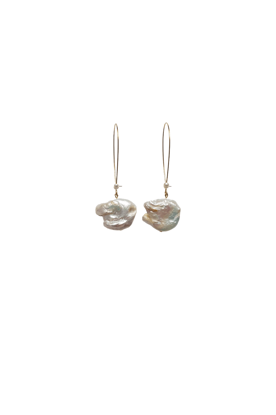 Pearly Wire Earring