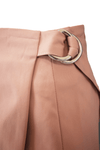 Pencil Wrap Skirt in Dusty Pink