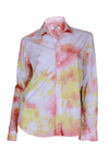 Repurposed Tie Dye Shirt in Tequila Sunrise