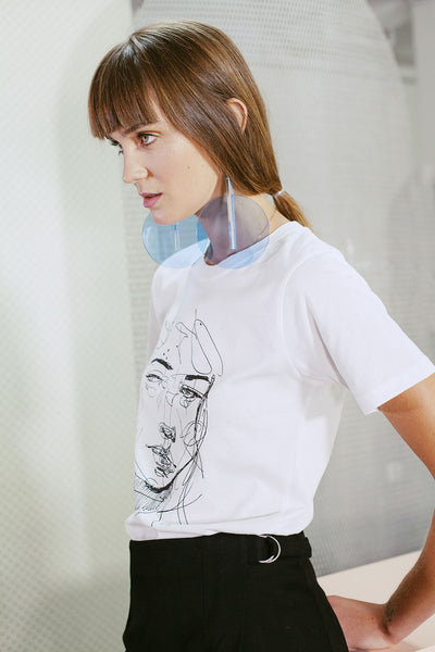 HEW clothing Flight Face T-Shirt