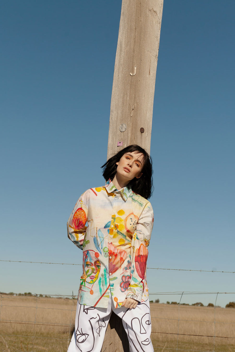 Long Sleeve Shirt in Proteus Fields