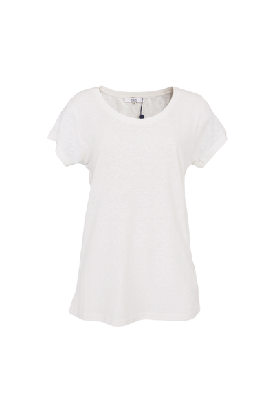 Womens Organic T-Shirt in Natural