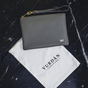 Shade Of Grey Alice Pouch - VURDAN - POUCH