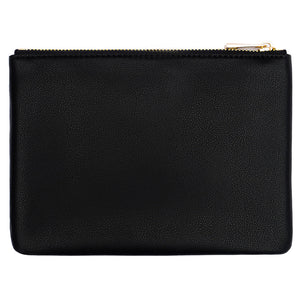 classic black monogram pouch personalised with monogram