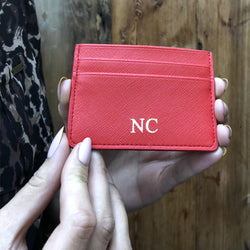 Passion Red Mosman Card Holder - VURDAN -