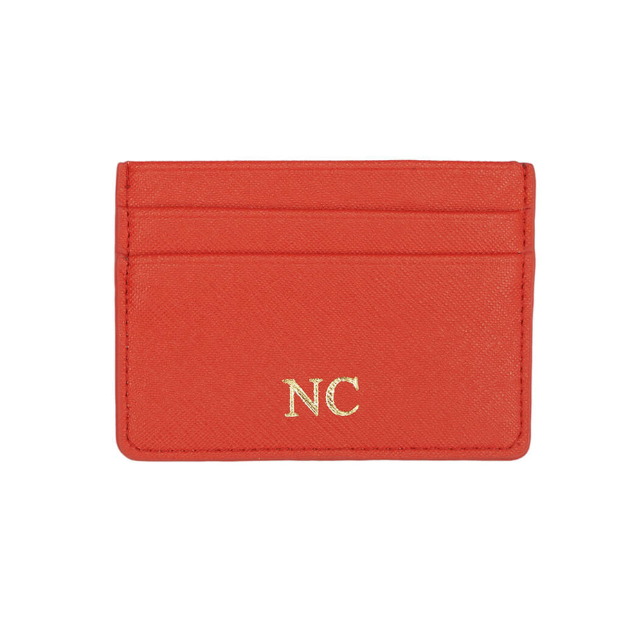 Passion Red Mosman Card Holder