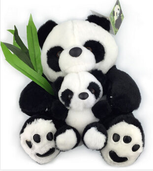 Sitting Panda Plush - Medium