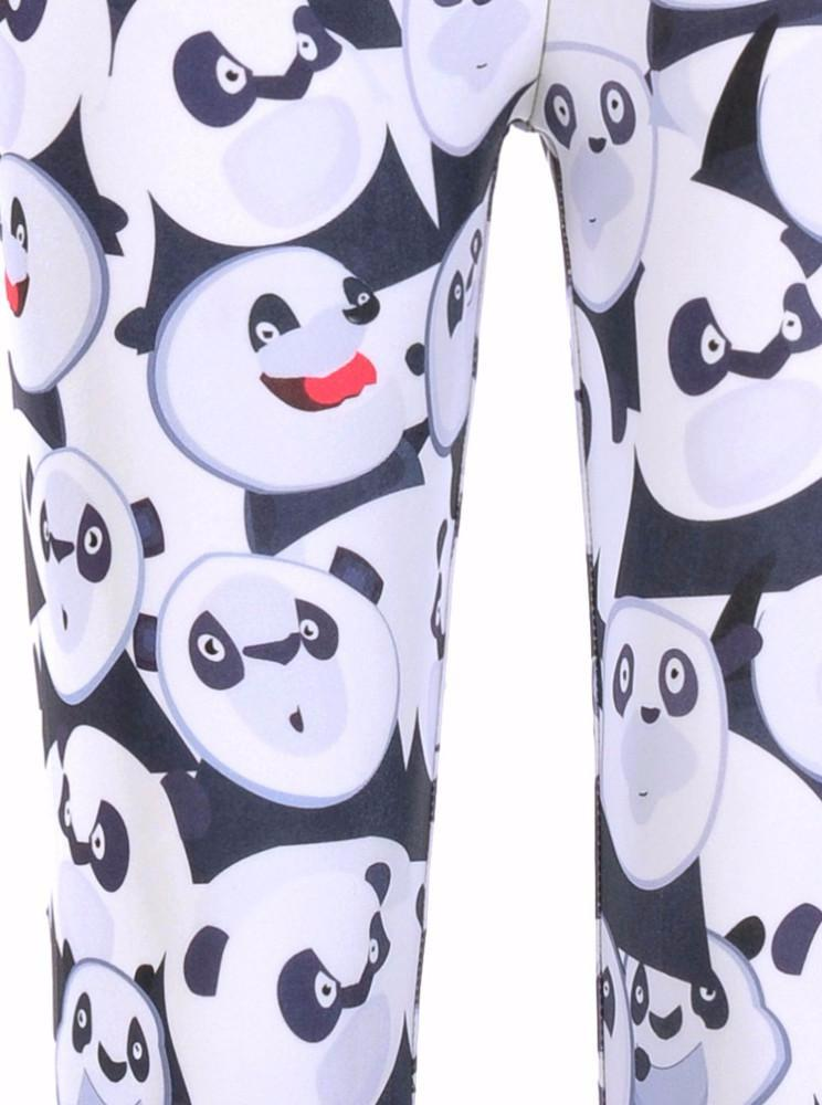 Panda Print Leggings