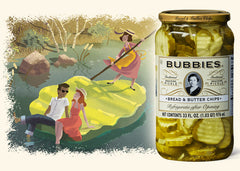 Bread and Butter Snacking Pickles 1L