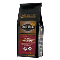 Organic Dark Roast Coffee Whole Bean 454g