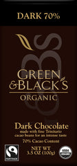 Organic Dark Chocolate 85% 90g