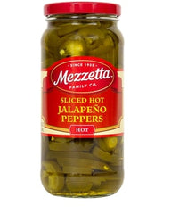 Sliced Hot Jalapeno Peppers 375ml