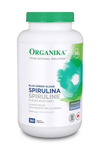 Spirulina 1000mg 180 Tablets